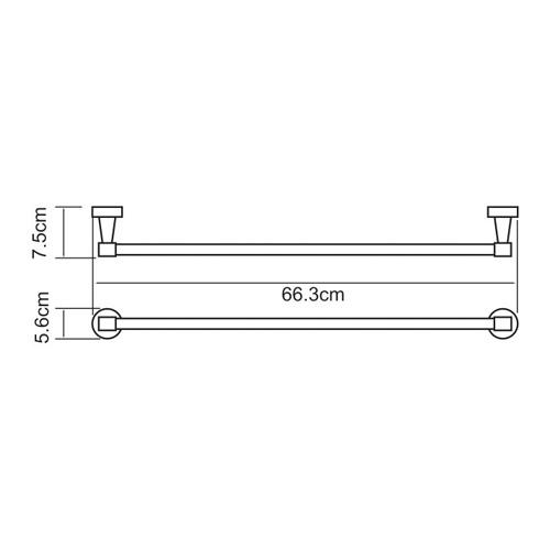 K-4030 Badetuchhalter