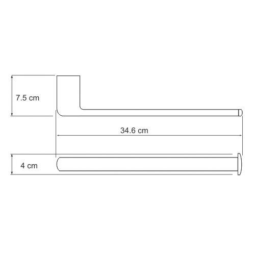 K-6851 Badetuchhalter