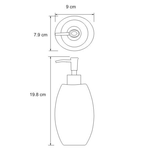 K-8299 Seifenspender Standmodell, 450 ml